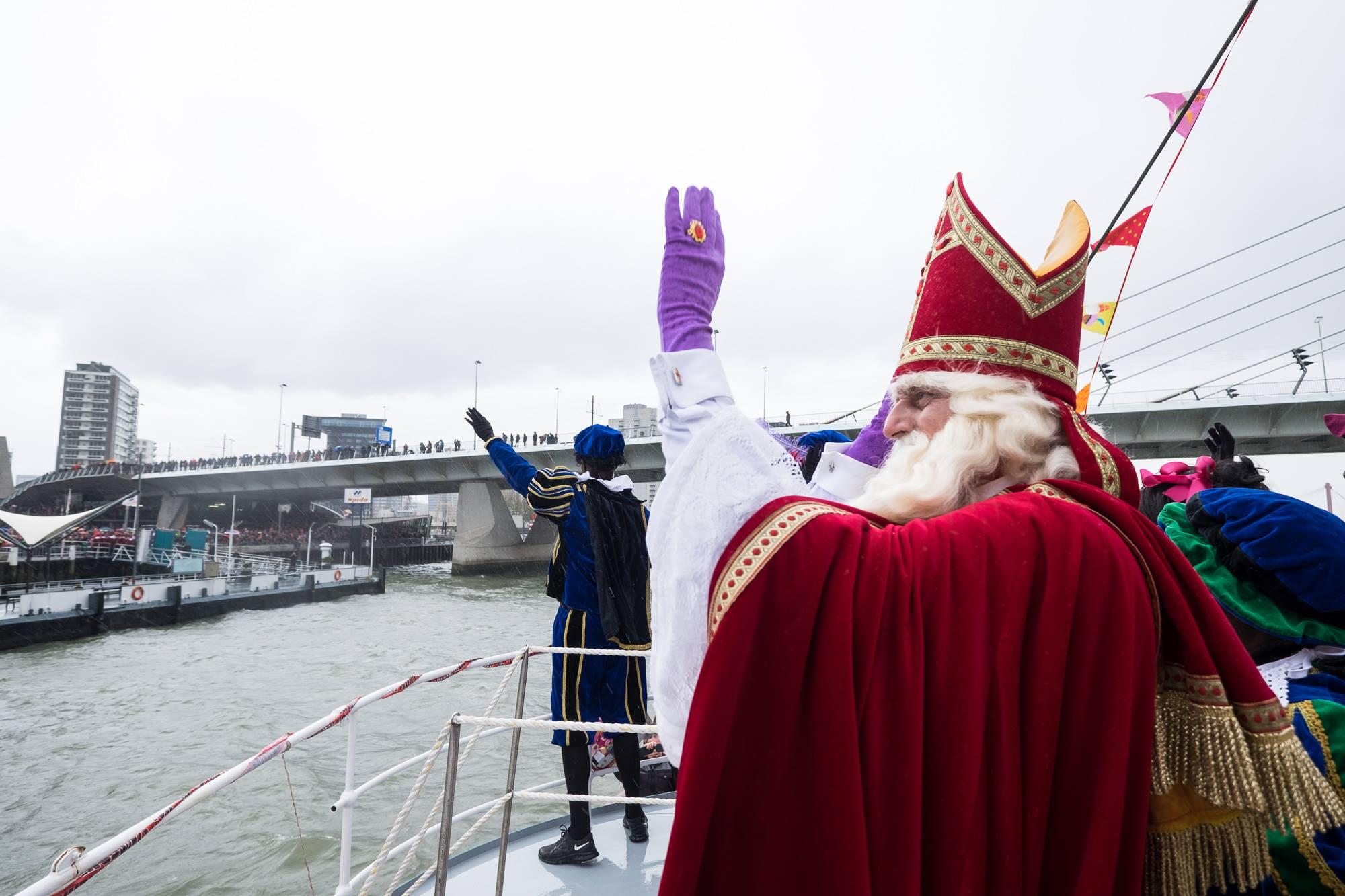 Sinterklaas intochten Rotterdam