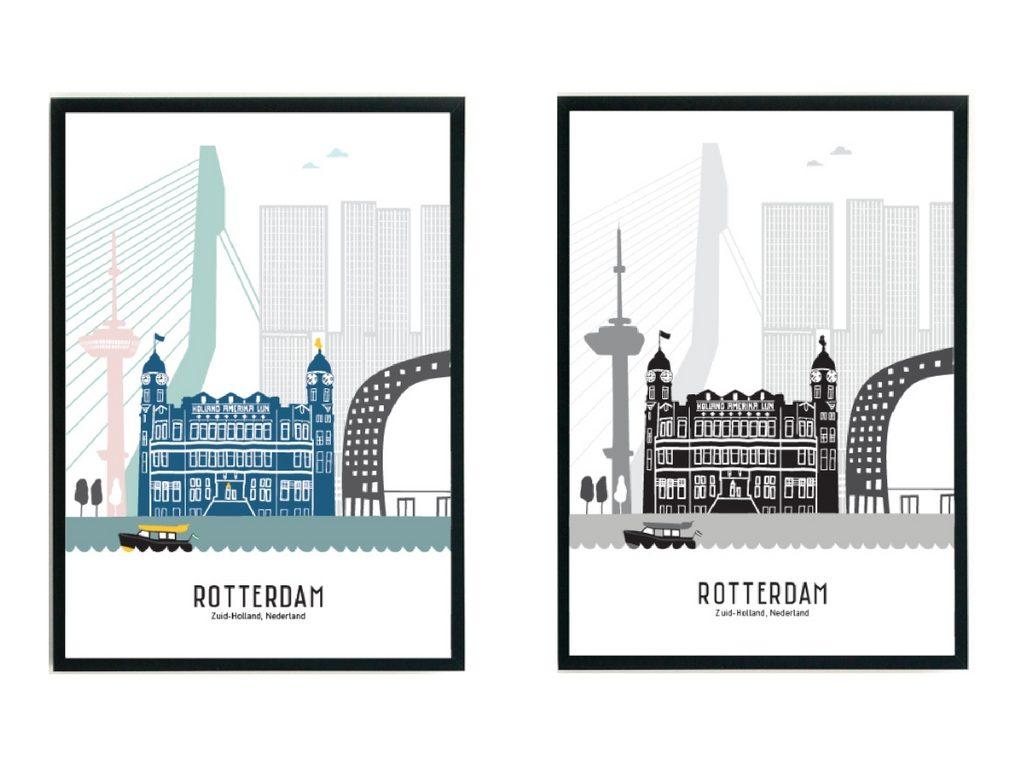 Rotterdam poster Mevrouw Emmer