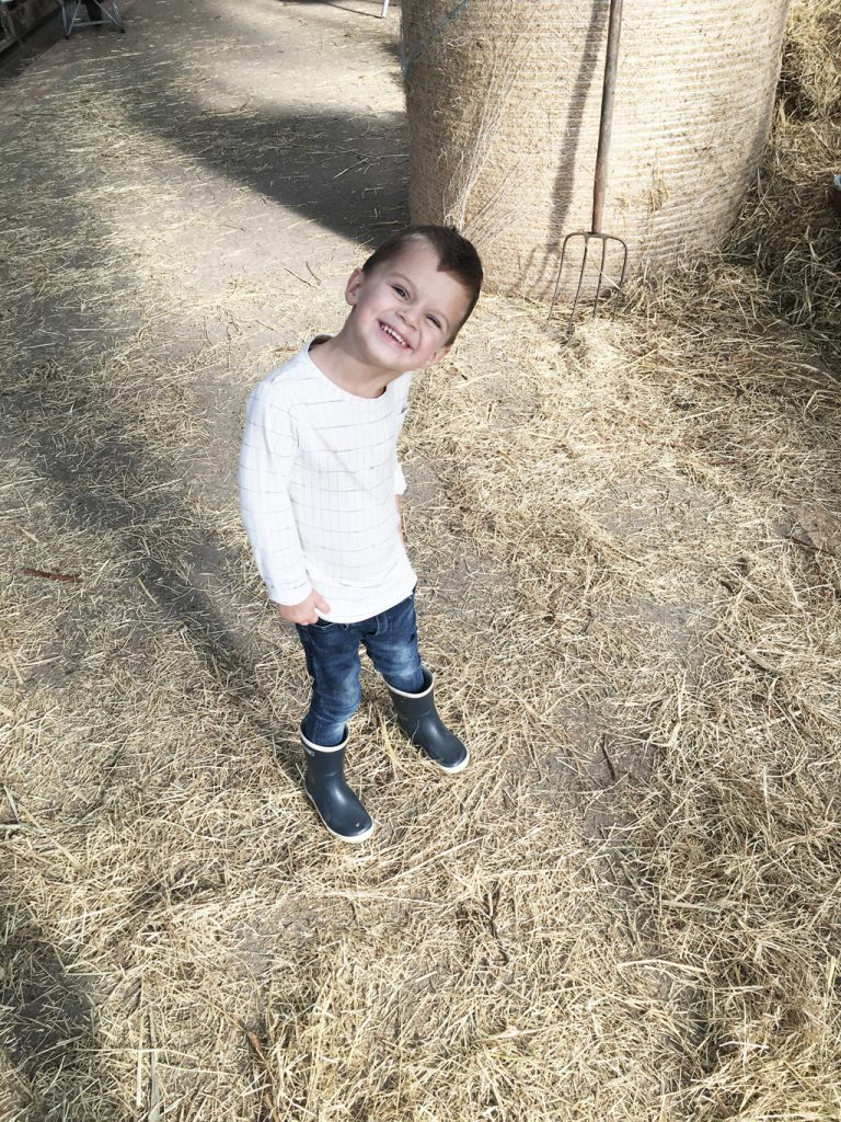 Ruben bij belevenisboerderij Schieveen