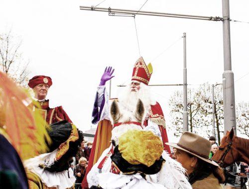 Sinterklaas intocht in Rotterdam
