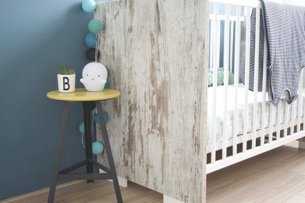 De nieuwe babykamer van Boris
