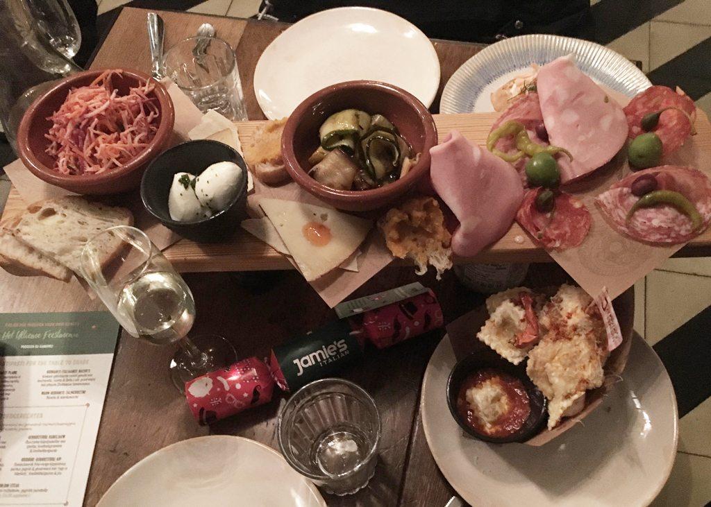 Kerst bij Jamie's Italian