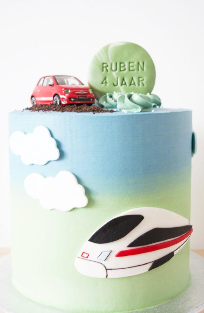 De taart voor Ruben