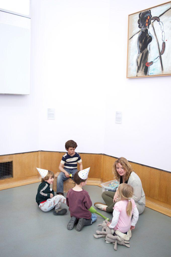 Peuterrondleiding Museum Boijmans van Beuningen