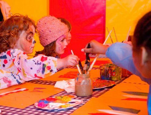 Koningsdag met kinderen in Rotterdam