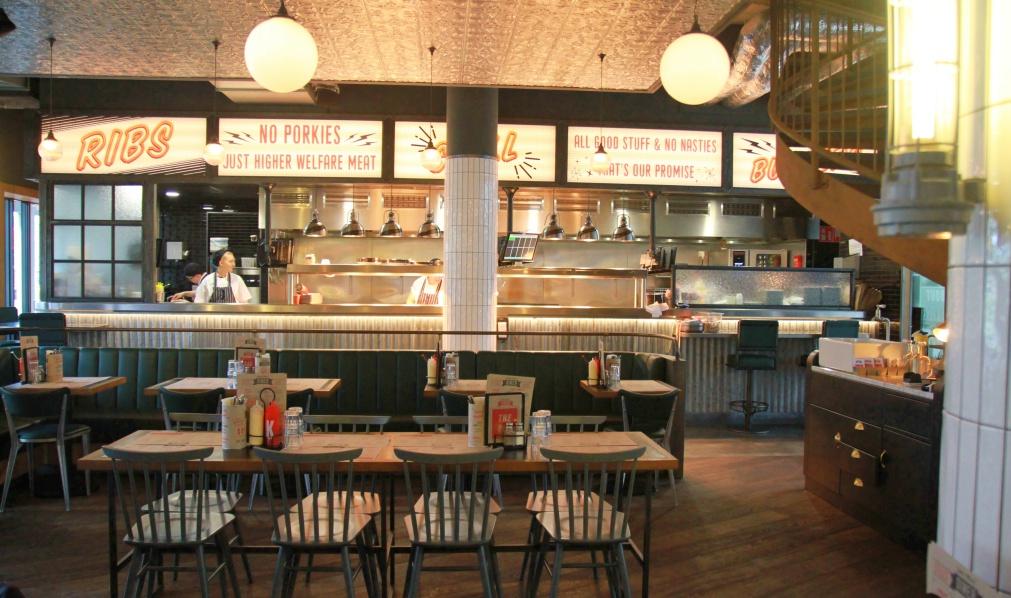 Jamie's diner keuken
