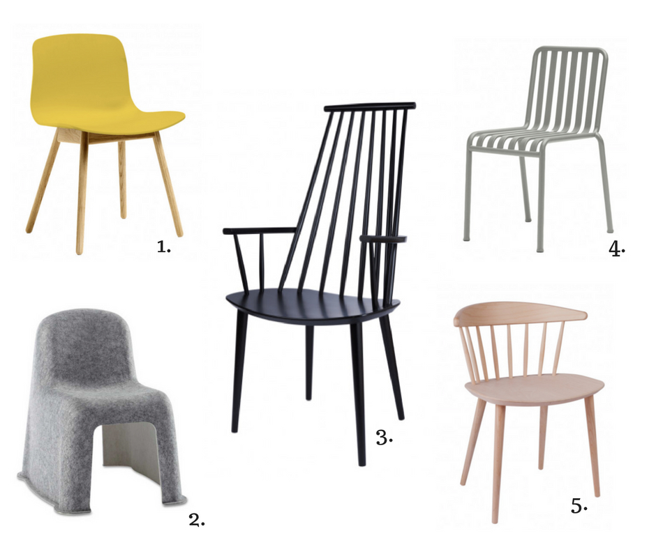 Hay stoelen