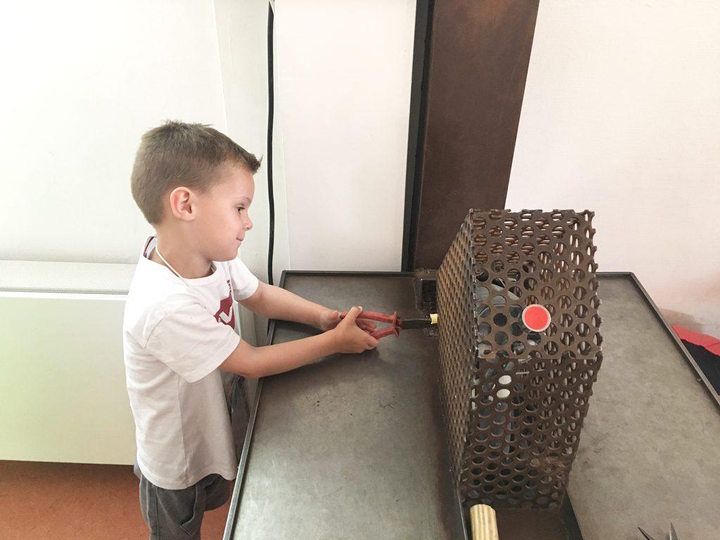Lepel maken bij de Ontdekhoek