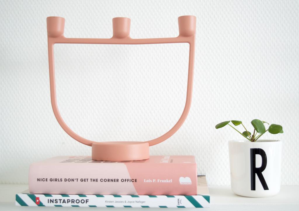 Muuto kandelaar roze